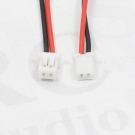 Kabel Molex 1,25mm 2pin 10cm