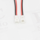 Molex 1,25mm 2pin 10cm male