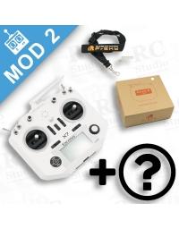FrSky Taranis Q X7 Mod2 bílý + volitelné příslušenství