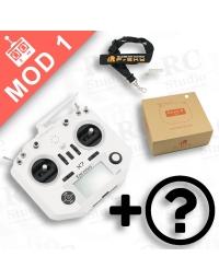 FrSky Taranis Q X7 Mod1 bílý + zvýhodněné příslušenství