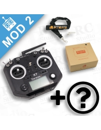 FrSky Taranis Q X7 Mod2 černý + zvýhodněné příslušenství