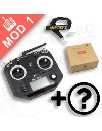 FrSky Taranis Q X7 Mod1 černý + zvýhodněné příslušenství