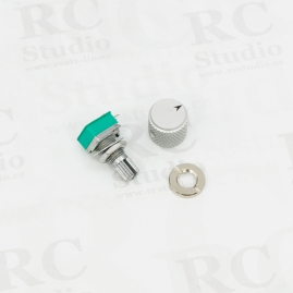 Potentiometer without center