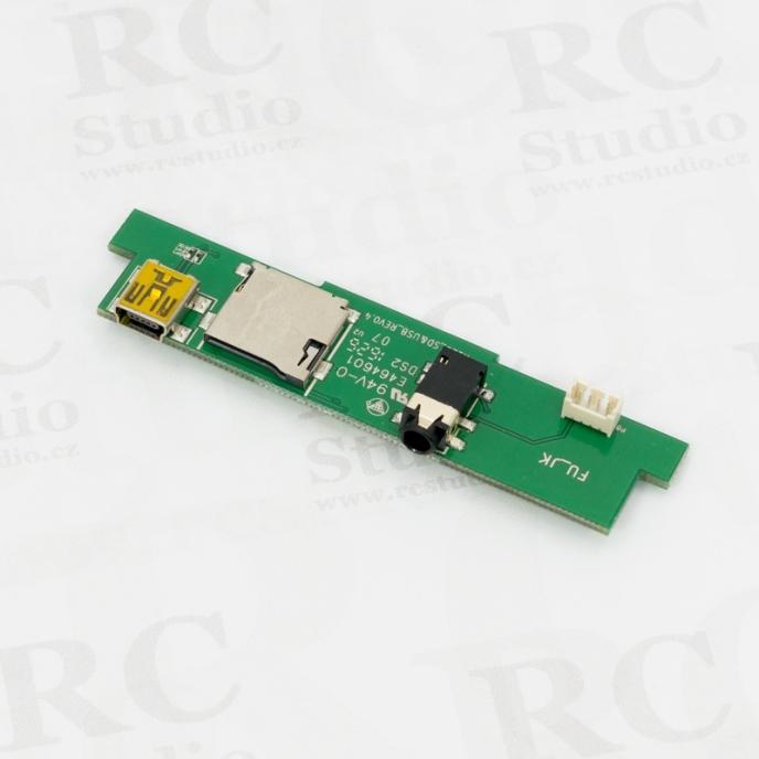 Deska USB, SD a trener pro Horus