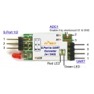 Smartport - UART převodník (A a B)