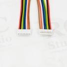 Káblík JST GH 1,25mm 8pin 15cm