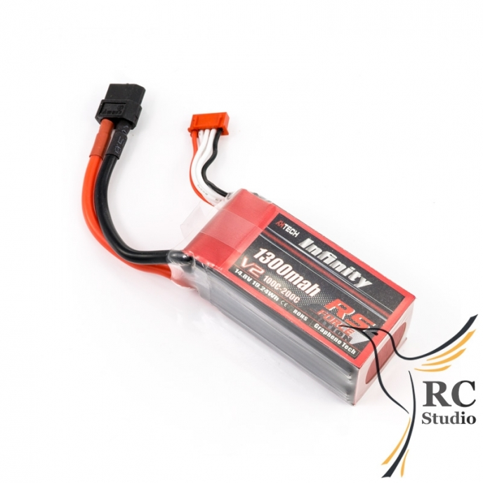 Infinity Force 1300mAh 4S1P 100-200C