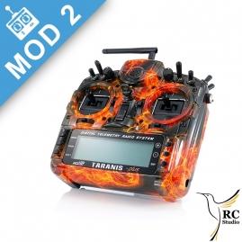 FrSky Taranis Plus SE (X9D+)  Mod1 blazing skull black edition