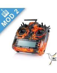 FrSky Taranis Plus SE (X9D+) Mod2 Oheň Black edition + zvýhodněné příslušenství