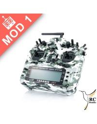 FrSky Taranis Plus SE (X9D+) Mod1 Kamo Black edition + zvýhodněné příslušenství