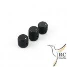 Sada hmatníků černá pro X10