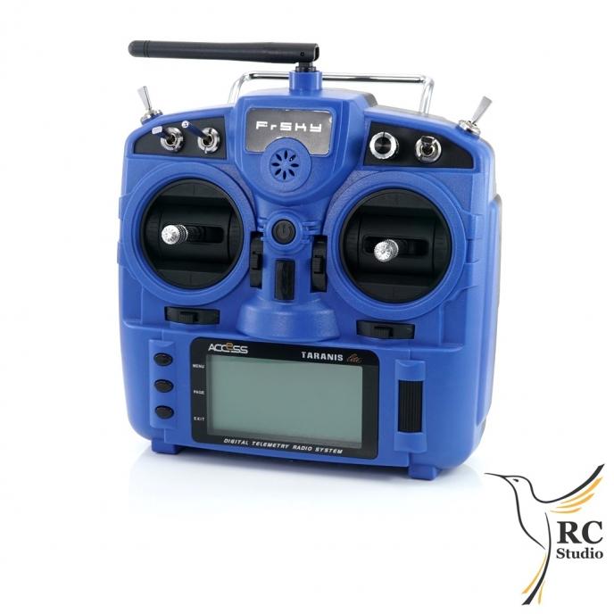 FrSky Taranis X9 Lite modrý M1 + zvýhodněné příslušenství