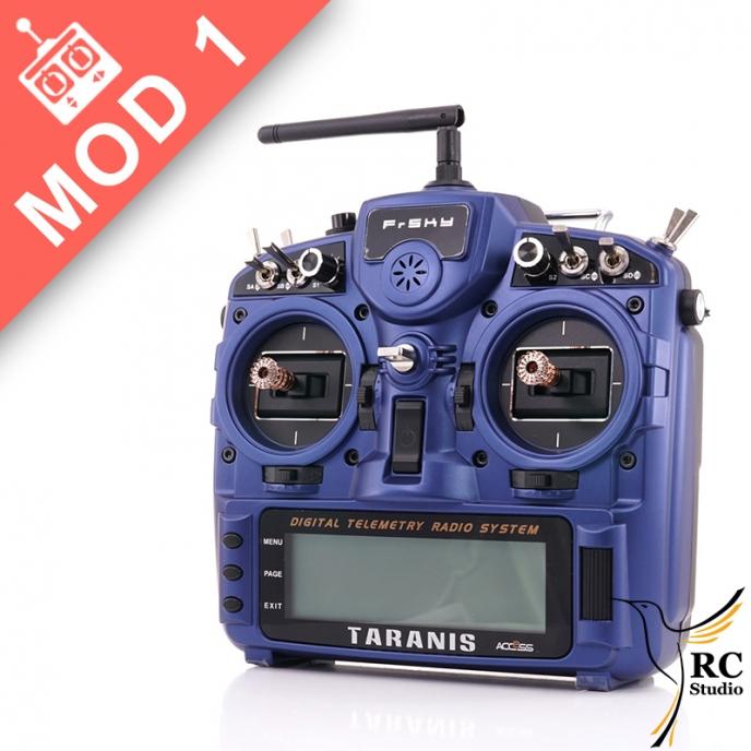 FrSky Taranis Plus 2019 SE modrá Mod1