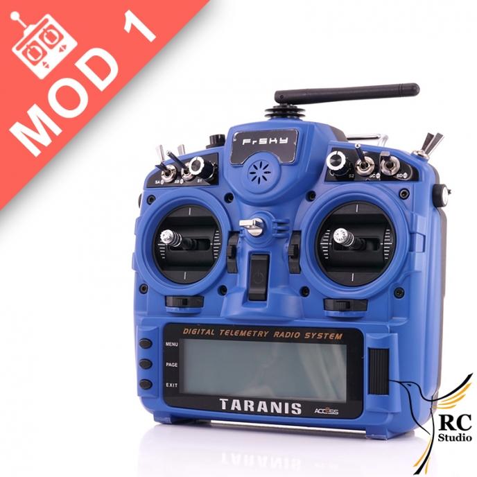 FrSky Taranis Plus (X9D+) Mód1 + kufr