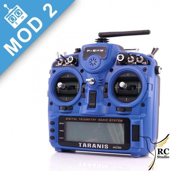 FrSky Taranis Plus (X9D+) Mod2 + kufr