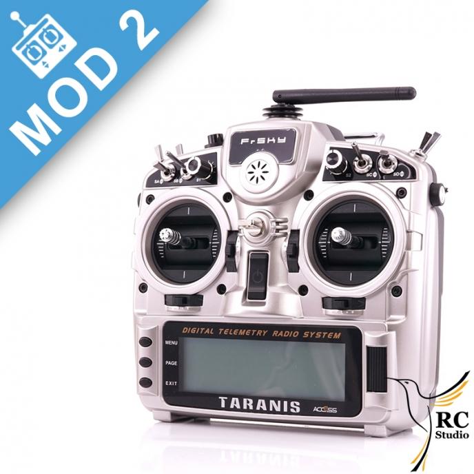 FrSky Taranis Mód2 + X8R