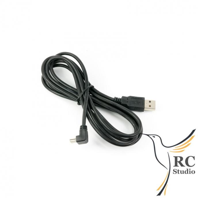 USB-A na Mini USB kabel, 90°, 1.8m