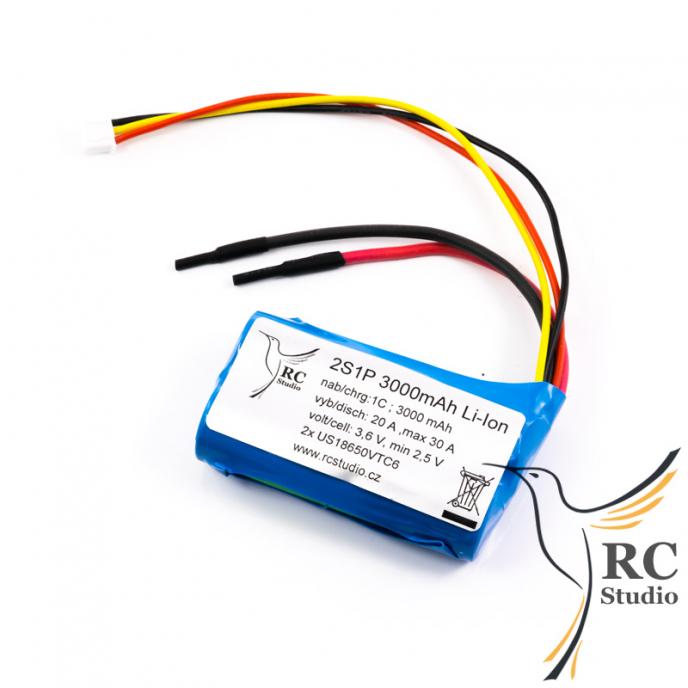 Pack Li-ion 3000mAh/7.4V
