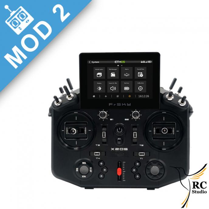 FrSky Horus X20S Mod2 černá