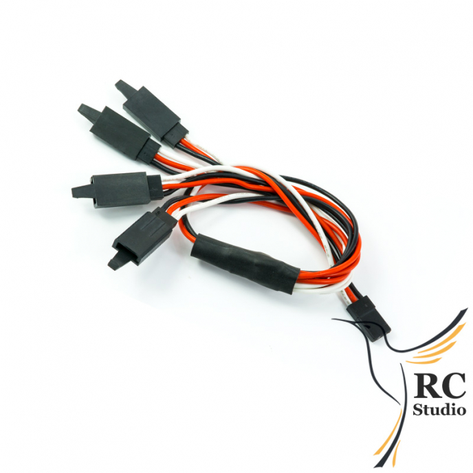 Y cable 1:4 extend 250mm