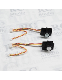 Side slidrs (pair) for FrSky Taranis