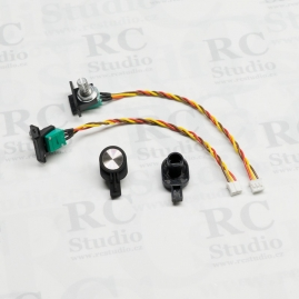 Side sliders (pair) for FrSky Taranis